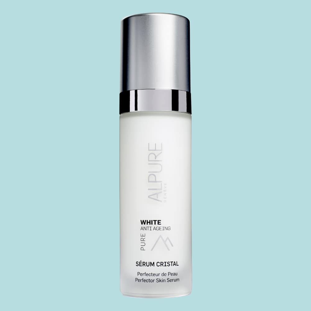 Le Sérum Cristal Alpure est un concentré d'actifs anti tache et perfecteur de peau